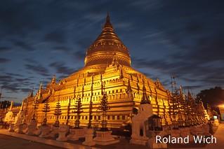Bagan - Shwezigon Pagoda