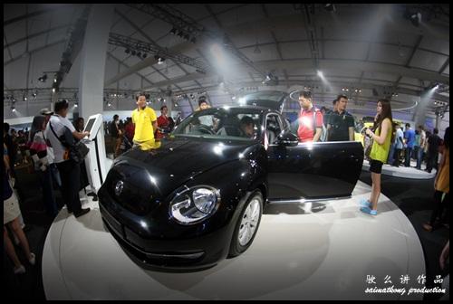 Volkswagen. VW. Das Auto. Show 2012. @ KLCC