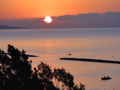 Sunrise in Limassol (Cyprus)