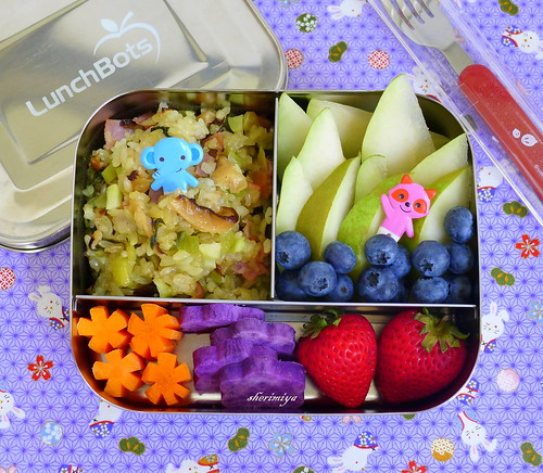 Pickled Sticky Rice Bento by sherimiya ♥