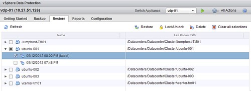 Install, configure and use vSphere Data Protection (Back to Basics)