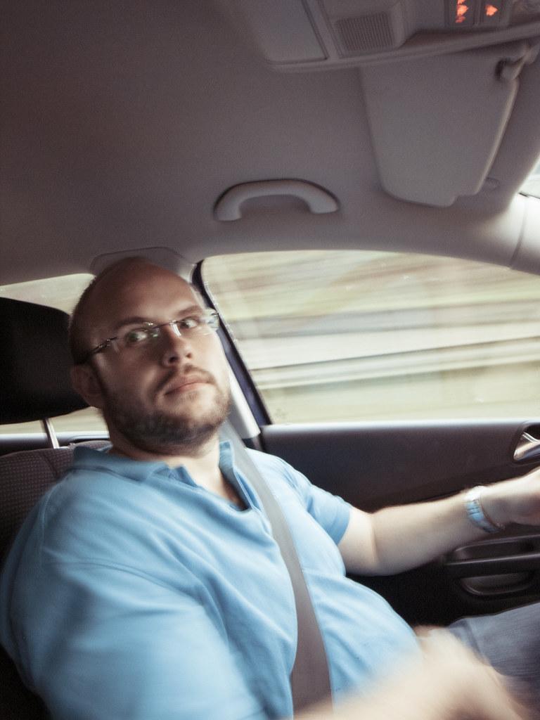 Driving to JVC