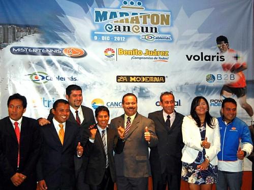 Germán Silva presenta el Maratón Cancún 2012