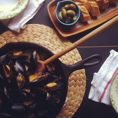 Fore Street Mussels From Portland, Maine Recipe — Dishmaps