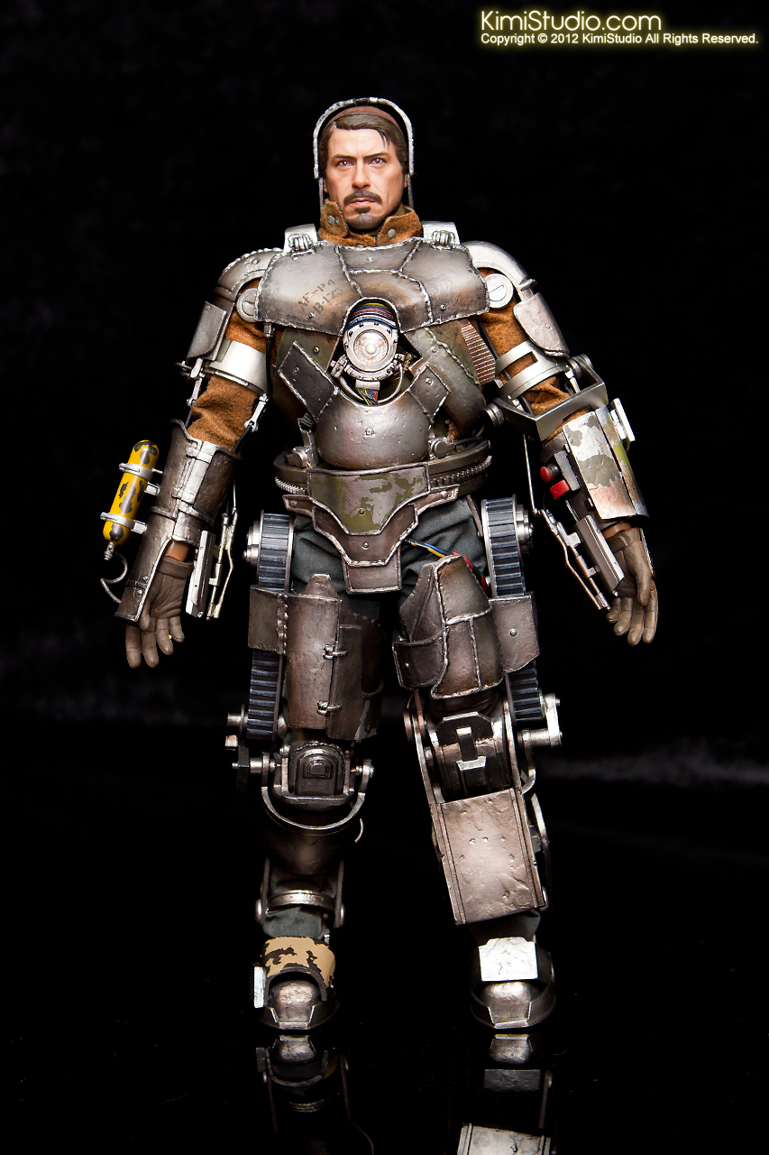 2012.09.13 MMS168 Hot Toys Iron Man Mark I V2.0-014