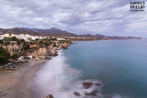 sunset sea españa beach canon mar spain playa andalucia calahonda tamron malaga anochecer nerja 1024 axarquia balcondeeuropa 60d