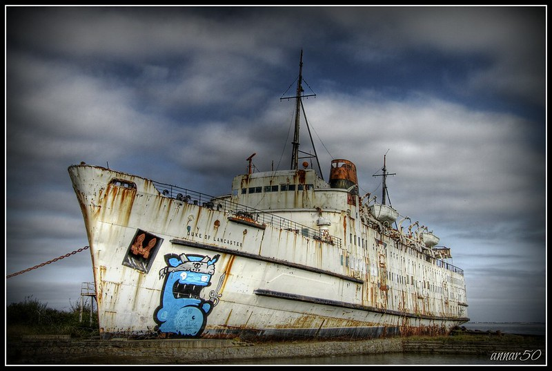 """Mr.Council, Your ship Looked like shit, so i painted it! Bombed ""Duke Of Lancaster"""