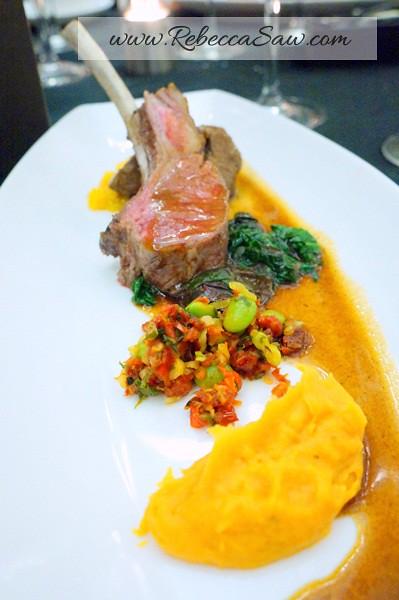 lamb dish by johann lafer - shook starhill