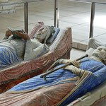 Plantagenet World 2011 Effigies of Henry II and Eleanor of Aquitaine, Fontevraud Abbey --