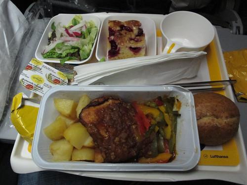 Comida Lufthansa