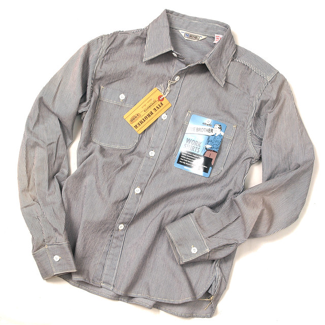Five Brother Hickory Stripe L S Work Shirt Flickr
