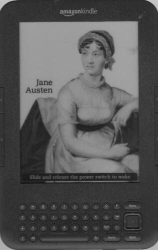 JANE AUSTEN ON KINDLE