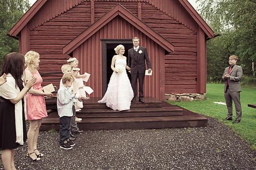 Häät Anna-Leena ja Jussi (25)