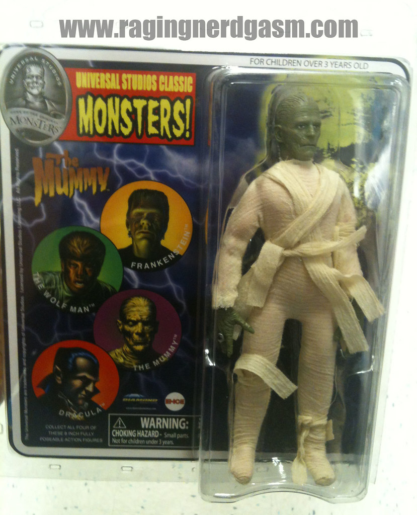 Universal Studios Classic Monsters by Diamond The Mummy004
