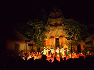 Bali Dance @ Ubud Palace