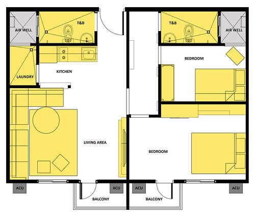 Suggested Layout 60 SQM