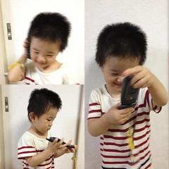 使ってない携帯電話で遊ぶ (2012/9/23)