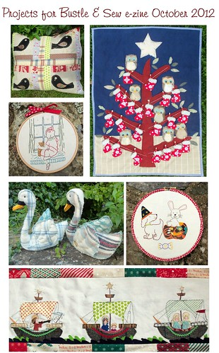 Projects for Bustle & Sew ezine