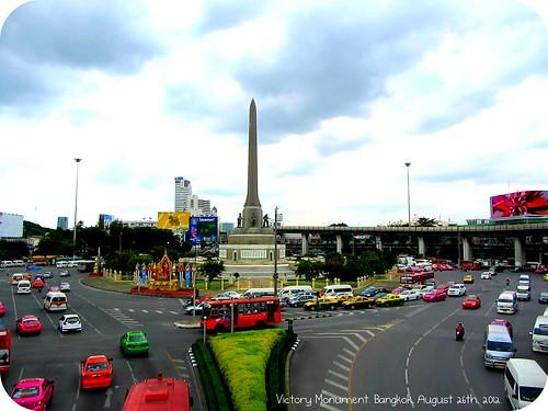 Victory Monument Bangkok 2012