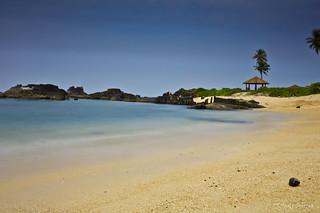 Seascape at St.Mary's Island