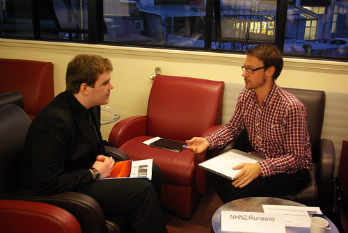 Dunedin Internship Speed Dating 2012