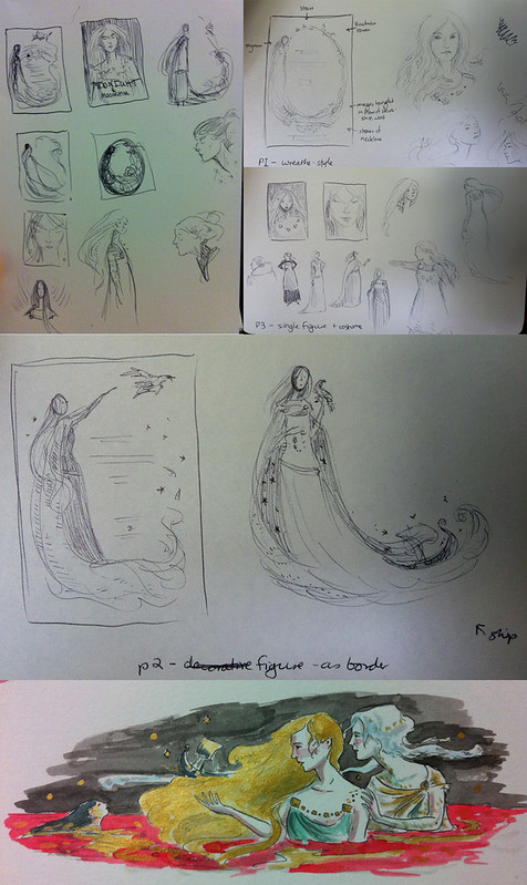 First sketches