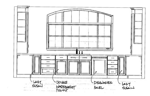 kitchen plan 1 - side view 4