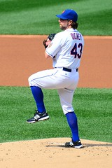 R.A. Dickey Pitching In His 20th Win