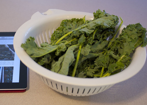 Kale Chips And Their Making