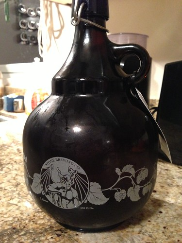 Stone growler by yoshjosh