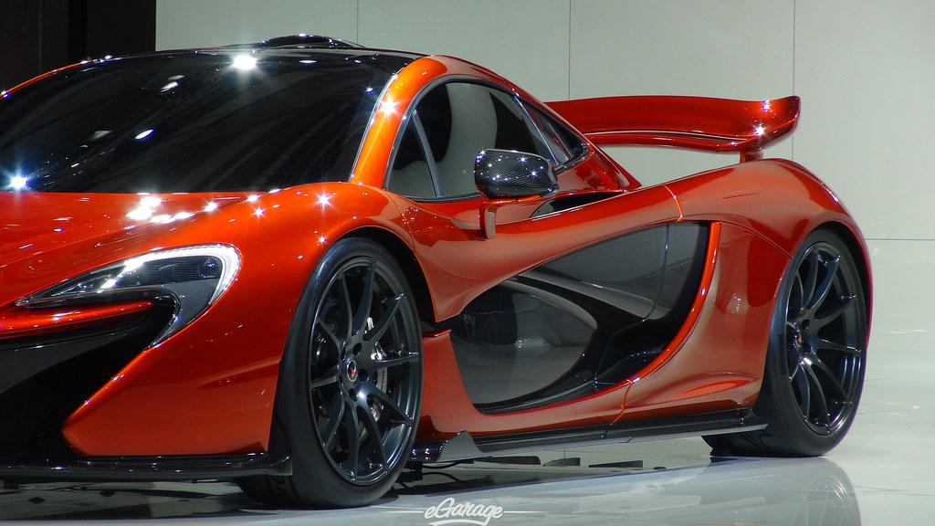 8034742351 8226b672f6 b eGarage Paris Motor Show McLaren P1