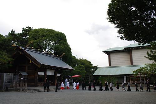 結婚式@伊勢山皇大神宮
