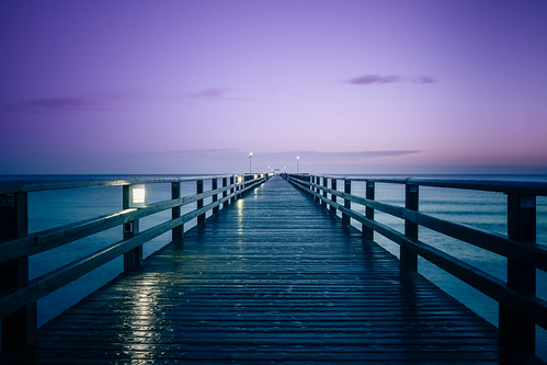 night sunrise germany pier balticsea clear sonnenaufgang ostsee prerow mecklenburgvorpommern seebrücke
