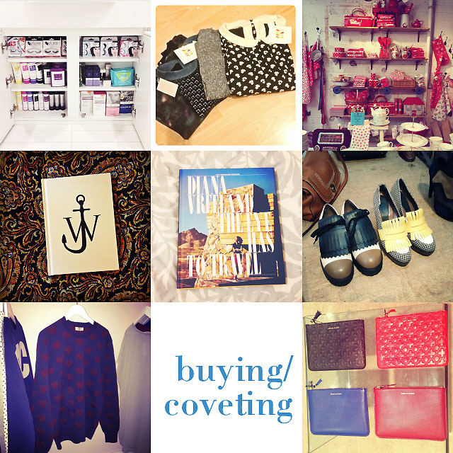 purchasing coveting buying september instagram blog post