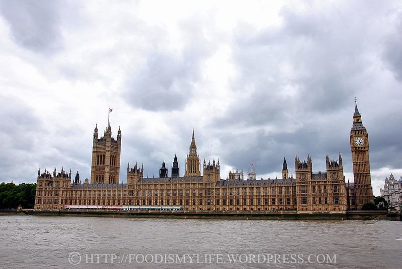 Palace of Westminster and the Elizabeth Tower, London, England