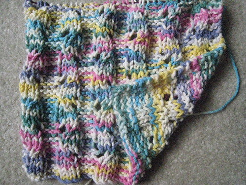 Wavy Rib dishcloth