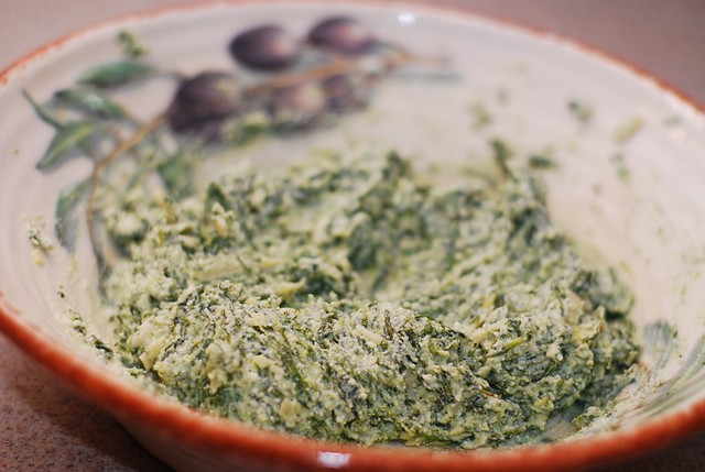 spinach and ricotta cheese