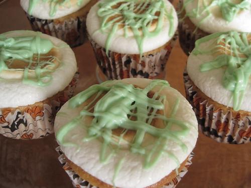 Slimed Cupcakes