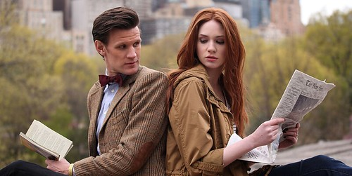 The Angels Take Manhattan - The Doctor and Amy