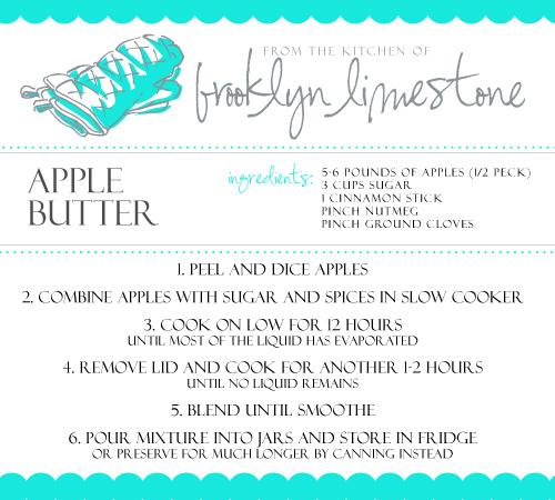 AppleButterRecipe
