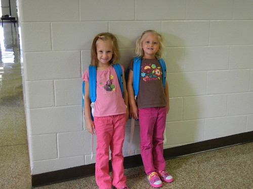 Aug 22 2012 First Day of School Haley Shanna