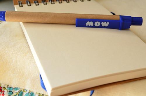 MOW メモ帳とボールペン