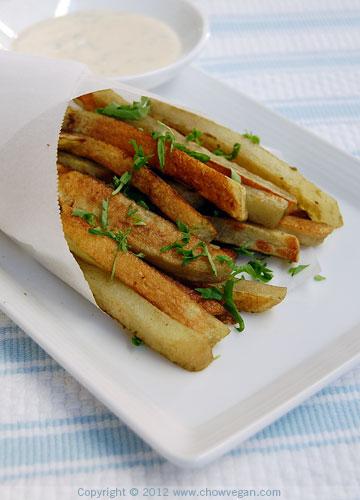 Baked Matcha Fries