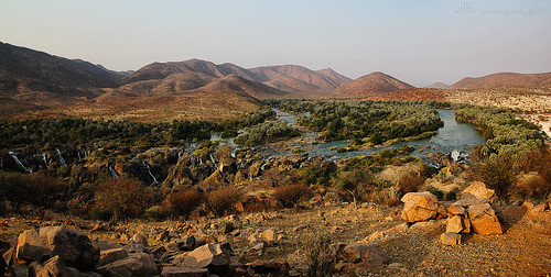 africa fall view namibia epupafalls cascate kaokoland kunene