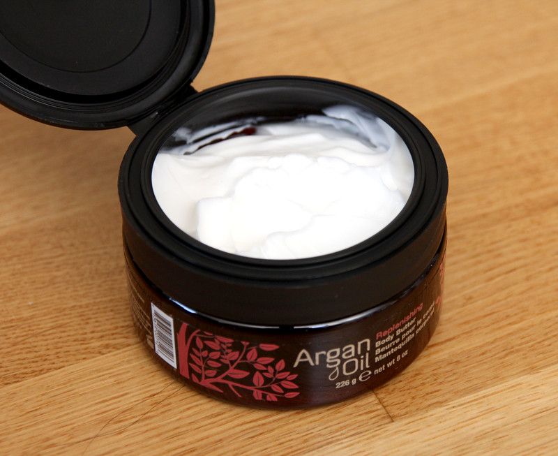 Argan oil replenishing body butter1