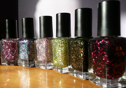 barry m glitters 1