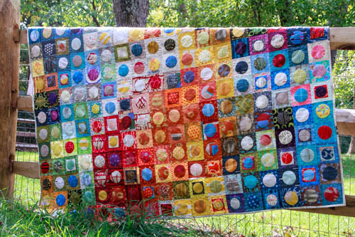 Mom's Circle Quilt from Fresh Lemons Quilts