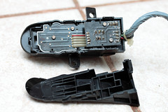 Cruise control switch assembly