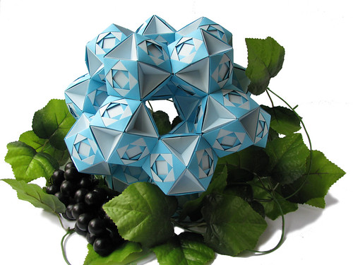 Structure of 20 octahedrons