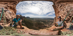 'The throne' @ Riglos [Panoramic equirectangular]